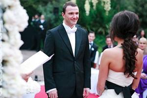 Свадьба Антона Сихарулидзе и Яны Лебедевой в Барселоне (2011 г., фото)