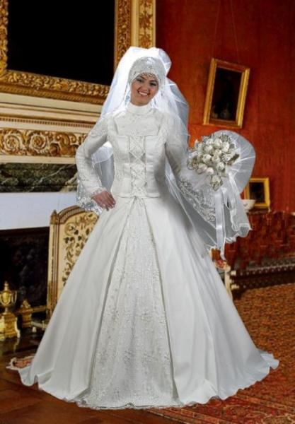 Свадебное платье мусульманское в москве