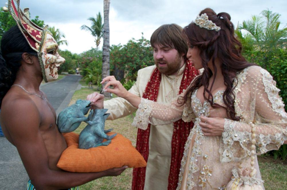 Свадьба Эвелины Бледанс и Александра Семина (фото)