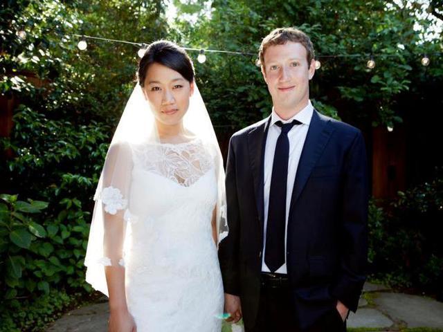 Основатель социальной сети facebook Марк Цукерберг женился