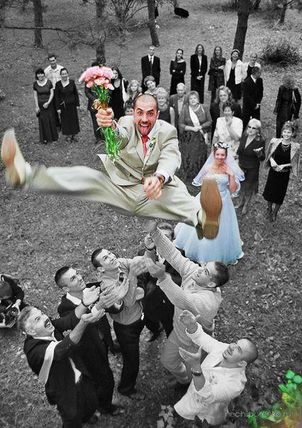Веселый и короткий выкуп невесты
