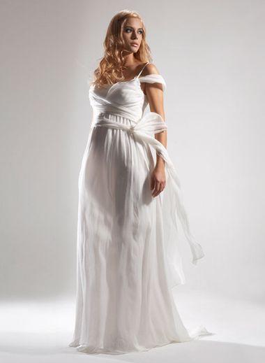 Свадебные платья для беременных 2011 года