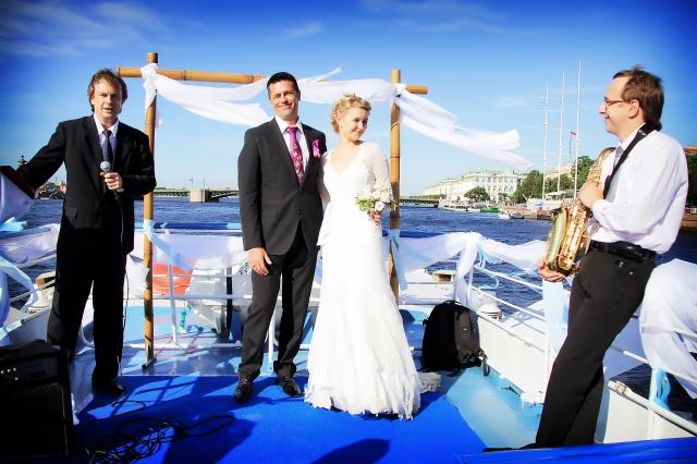 Свадьба на теплоходе Москва