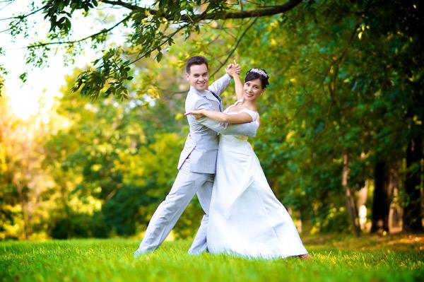 Первый свадебный танец молодоженов (постановка, советы)