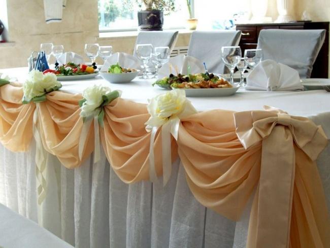 Украсить свадебного зала своими руками фото 599