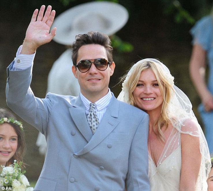 Свадьба Кейт Мосс и Джейми Хинса (фото)