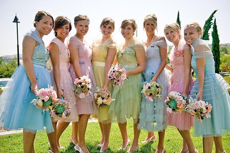 Платье подружки невесты 2011