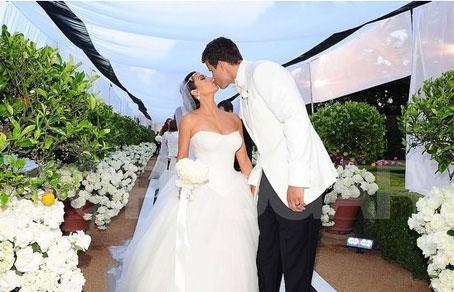 Свадьба Ким Кардашян (Кардашьян) и Криса Хамфриса (фото, видео)