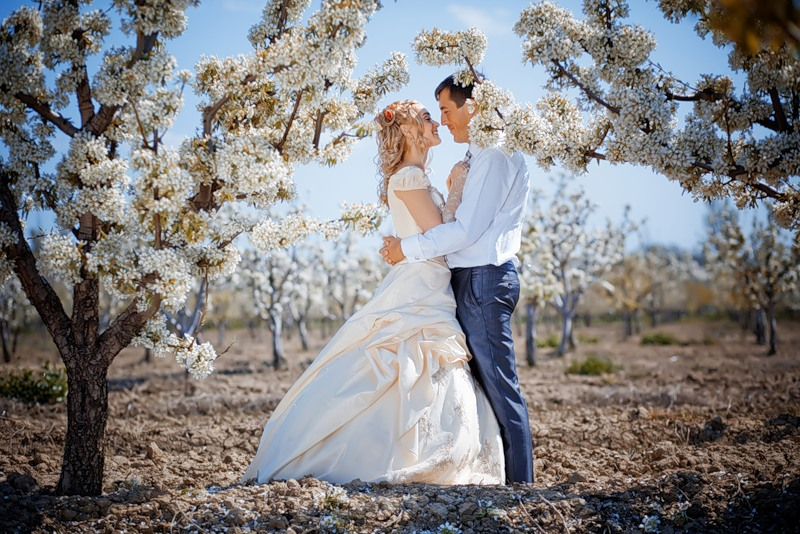 Весенняя свадьба (идеи, оформление, особенности макияжа)