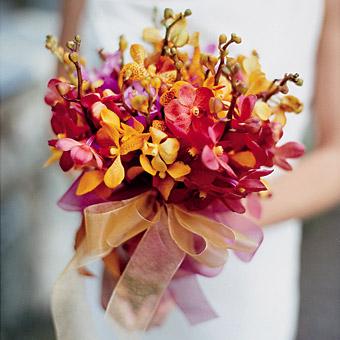 Как подобрать (выбрать) свадебный букет невесты