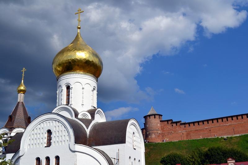Свадебная прогулка в Нижнем Новгороде
