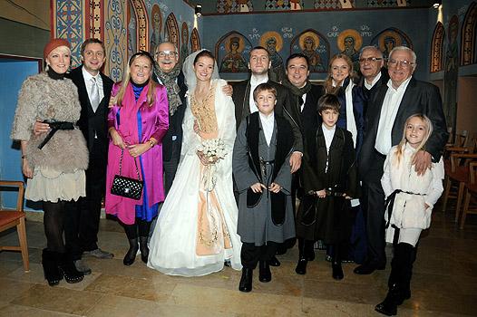 Свадьба Надежды Михалковой и Резо Гигинеишвили в Грузии (фото)