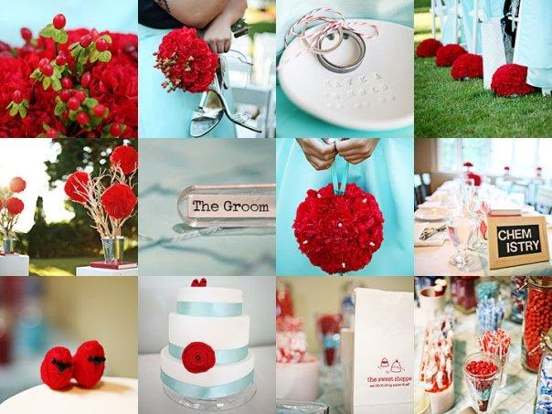 Свадебная палитра красок 2012