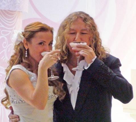 Свадьба Игоря Николаева и Юлии Проскуряковой (фото, видео)