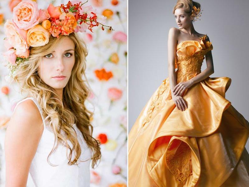Сценарий апельсиновой свадьбы