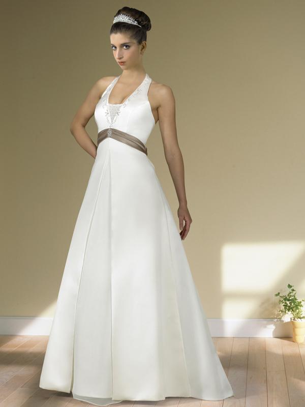 Как выбрать свадебное платье беременным