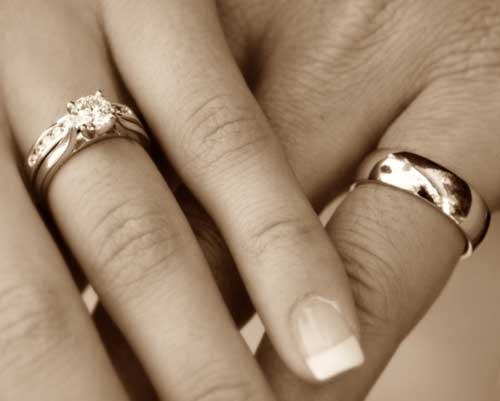 Золотое обручальное кольцо во сне