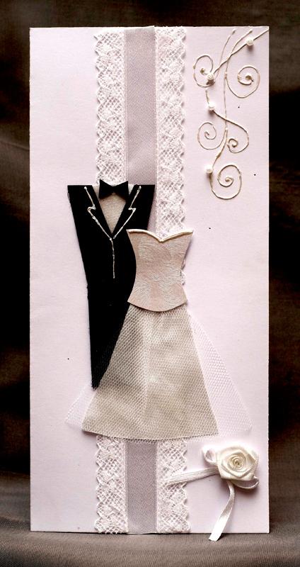Как сделать открытку на свадьбу сделать