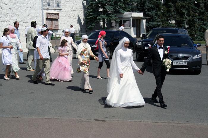 Свадьба по-татарским обычаям