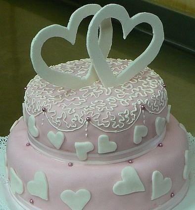 Украшаем торт на свадьбу своими руками
