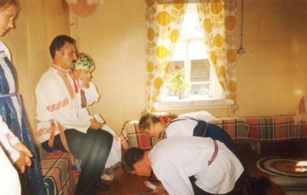 Благословение родителей на свадьбе